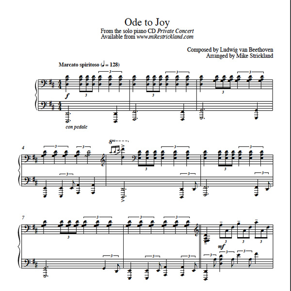 Beethoven Ode To Joy Download Free