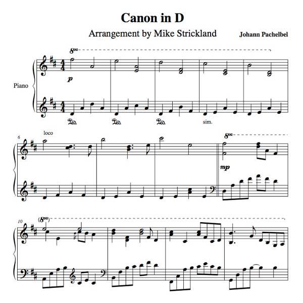 Violin canon rock violin chords : Violin : canon in d violin chords Canon In D plus Canon In' Canon ...