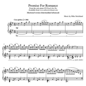 Promise For Romance - Shortened Version