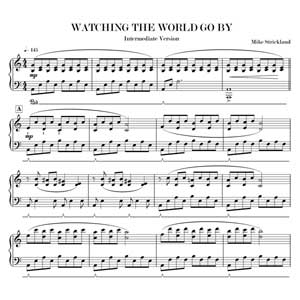 Watching The World Go By - Intermediate Version