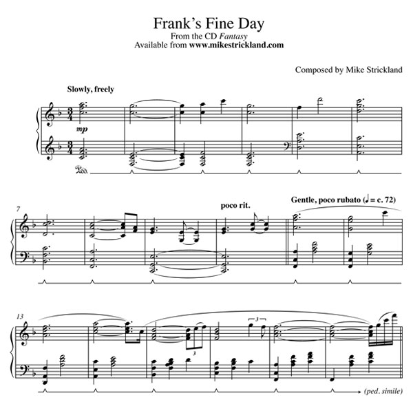 » Frank's Fine Day