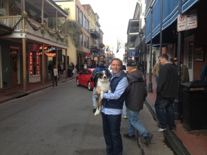 Mike and BO in NOLA Jan 2015