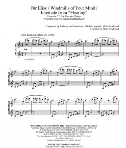 Mike Strickland - Fur Elise & Windmills page1